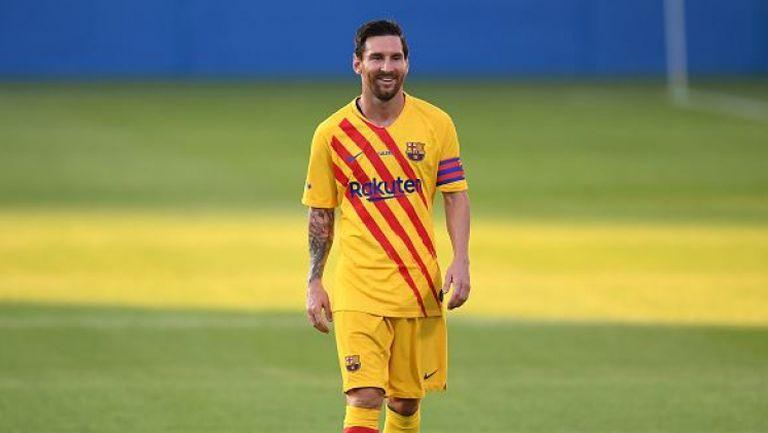 Меси игра за Барселона при успех в контрола