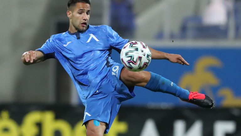 Борислав Цонев се завърна с важен гол в Левски