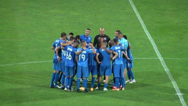 """Радост за """"сините"""" след победата над Етър"""