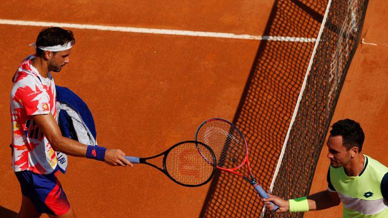 Григор Димитров започна с експресна победа в Рим