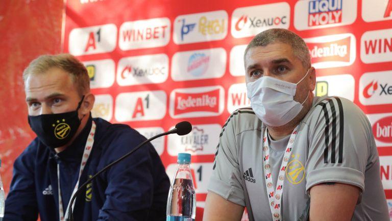 Треньорът на БАТЕ: Знаем ЦСКА. Без двамата ни лидери ще е трудно