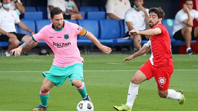 Меси с 2 гола за Барселона