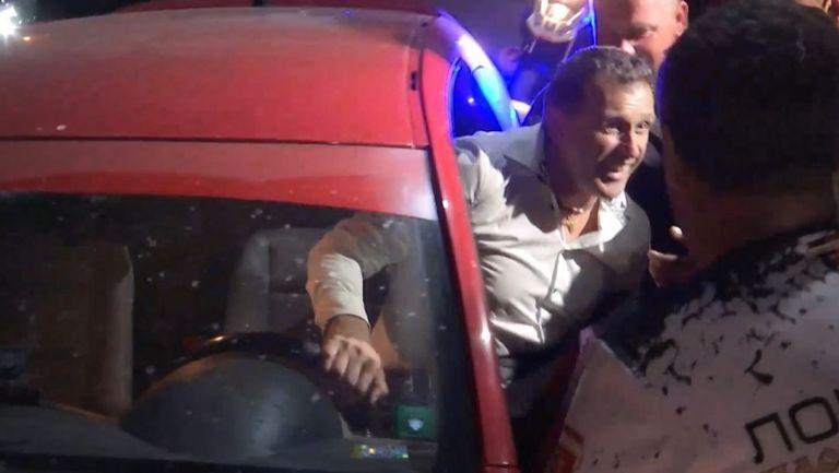 Бруно Акрапович бе изпратен като герой от феновете на Локо ПД