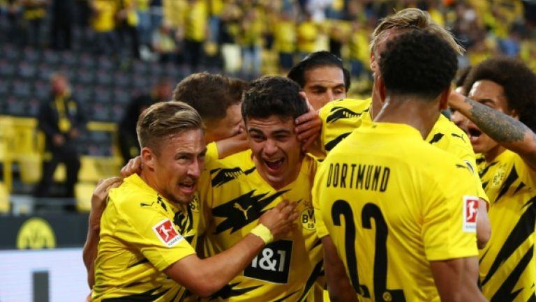 Борусия Дортмунд -  Борусия Мьонхенгладбах 3:0
