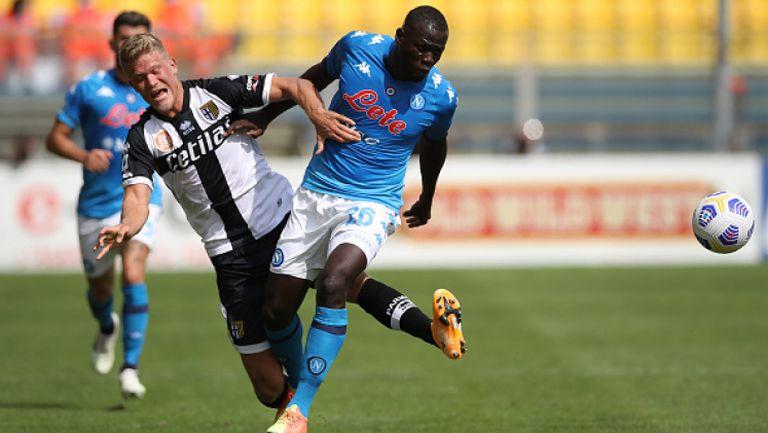 Наполи изтръгна победата срещу Парма