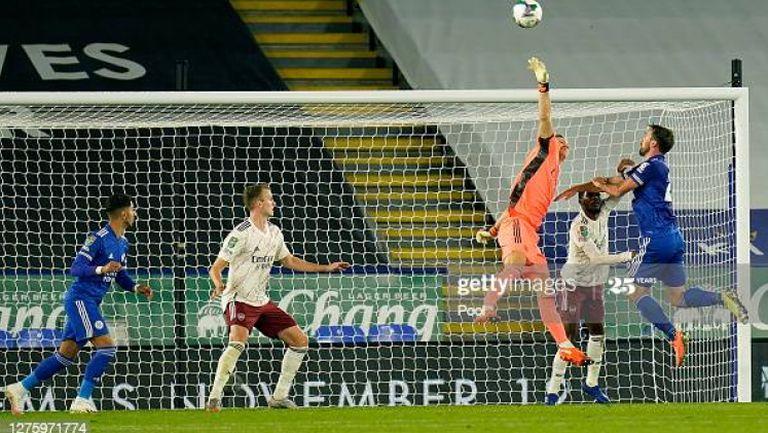 Лестър Сити - Арсенал 0:2