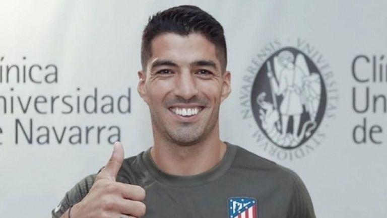 Луис Суарес вече тренира с новите си съотборници