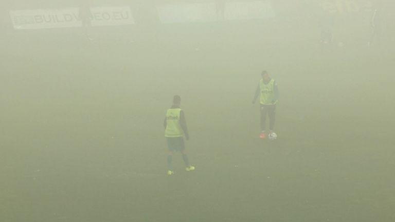 Дъжд и гъста мъгла застрашава мача между Витоша (Бистрица) и Локомотив (ГО)