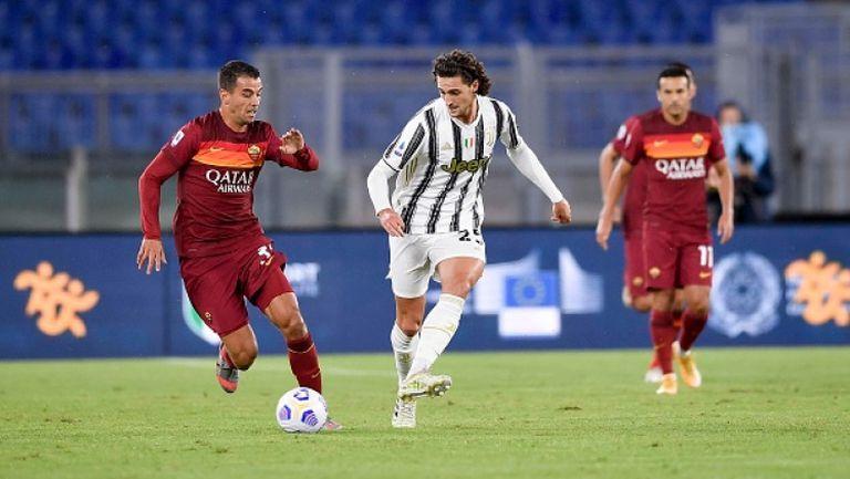 Роналдо измъкна точка за Ювентус в гостуването на Рома