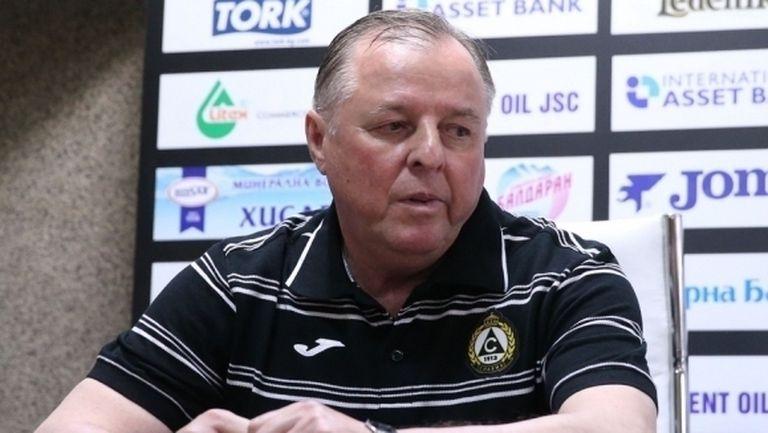Руски специалист е основен кандидат за нов старши треньор на Славия