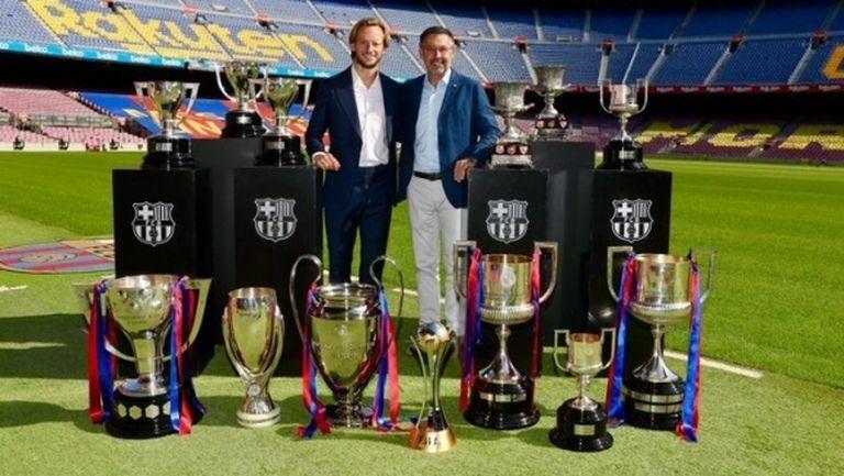 Ракитич се сбогува с Барселона