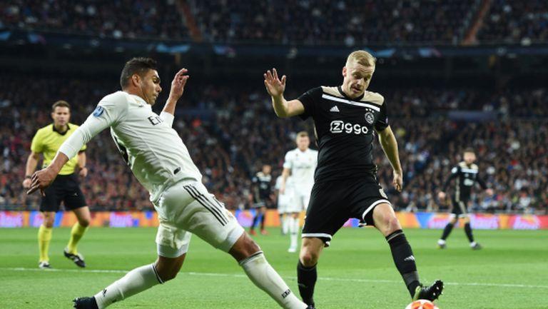 Признание: Ван де Беек е бил спазарен за Реал Мадрид