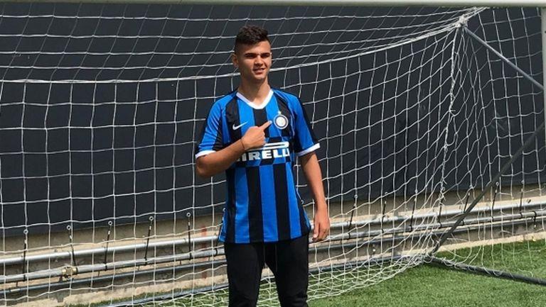 Никола Илиев ще играе за Интер U19