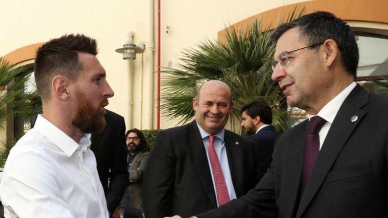 Ето как президентът на Барселона е напът да разубеди капитана