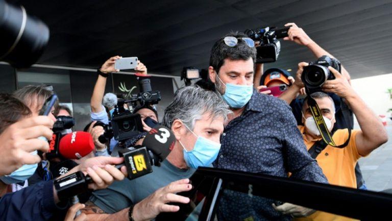 Меси-старши пристигна в офиса на Барселона