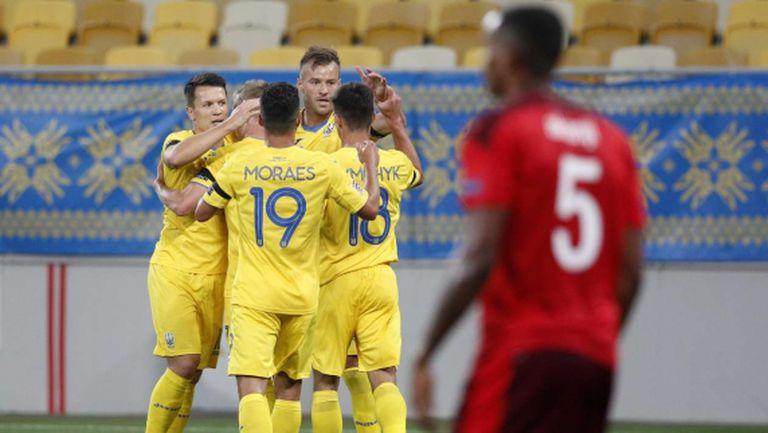 Украйна надделя над Швейцария в мач с три красиви гола (видео)