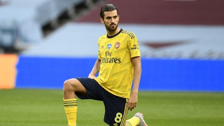Дани Себайос остава в Арсенал