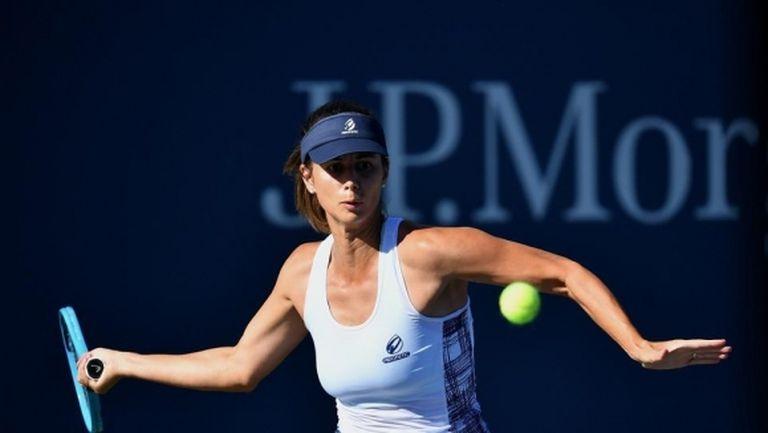 Цвети Пиронкова продължава приказката си на US Open след нов категоричен успех