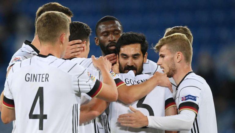 Германия отново не победи в Лигата на нациите (видео)