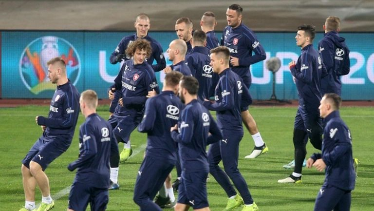 Викнаха 22-ама дебютанти в националния отбор на Чехия заради COVID-19