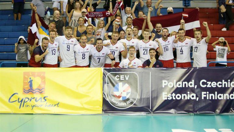 Латвия ще играе на Евроволей за първи път от 25 години