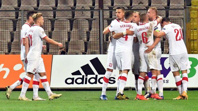 Полша си тръгна с трите точки след обрат срещу Босна и Херцеговина (видео)
