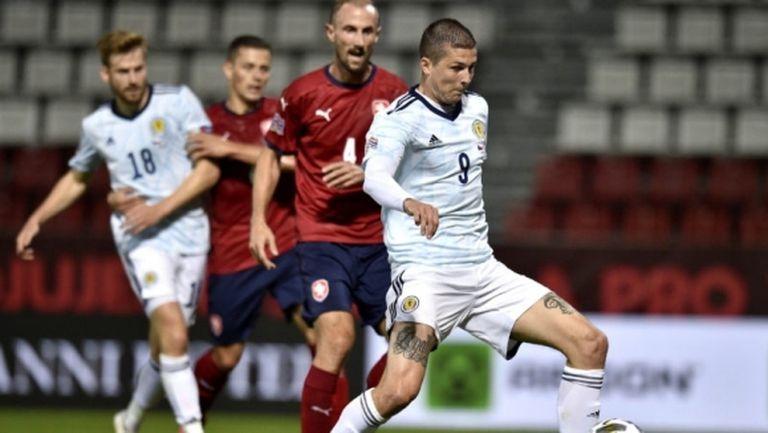 Шотландия спечели срещу дебютантите на Чехия (видео)