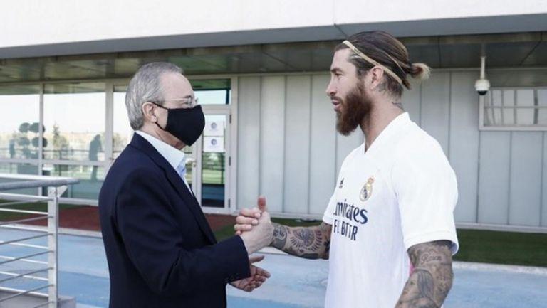 Рамос и Флорентино ще си говорят за нов договор с намалена заплата