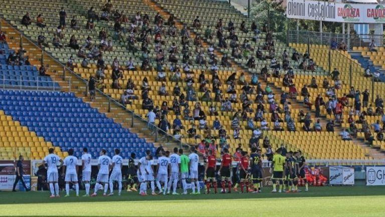Стадионите в Италия ще останат затворени за фенове поне до началото на октомври