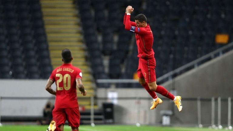 Роналдо е на 8 гола от световен връх