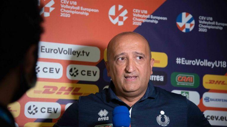 Треньорът на Италия U18: Показахме, че можем да играем равностойно срещу силен противник като България