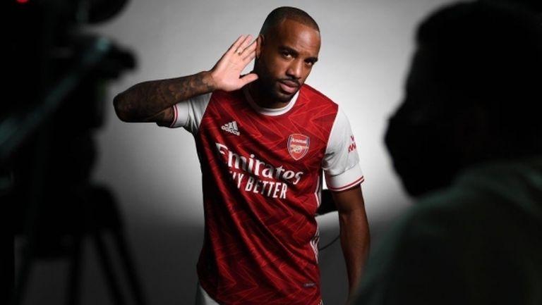 Лаказет е твърдо решен да остане в Арсенал