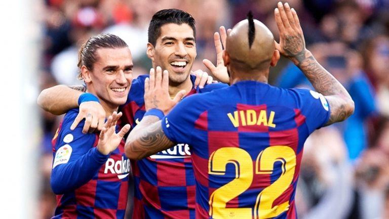 Барселона с ясен знак за бъдещето на Суарес и Видал