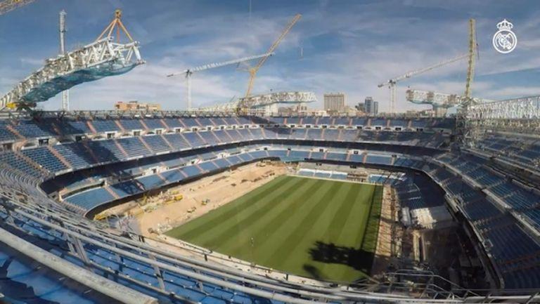 """Реал Мадрид със специално видео за ремонта на """"Бернабеу"""""""