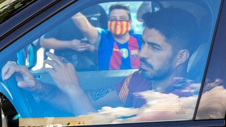 Атлетико не иска Луис Суарес