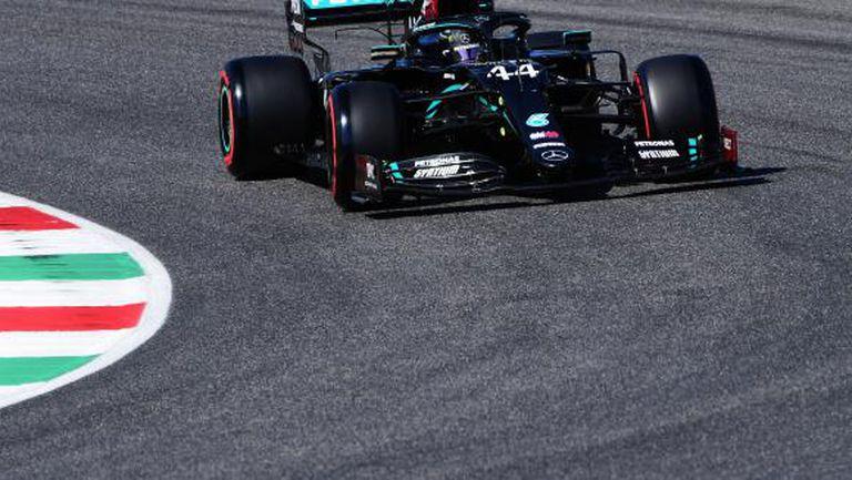 Победният ход на Хамилън продължи и в първата в историята на Формула 1 ГП на Тоскана
