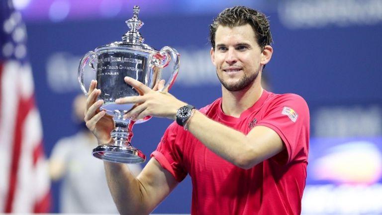Доминик Тийм осъществи първия обрат от 0:2 сета в Откритата ера и триумфира в US Open!