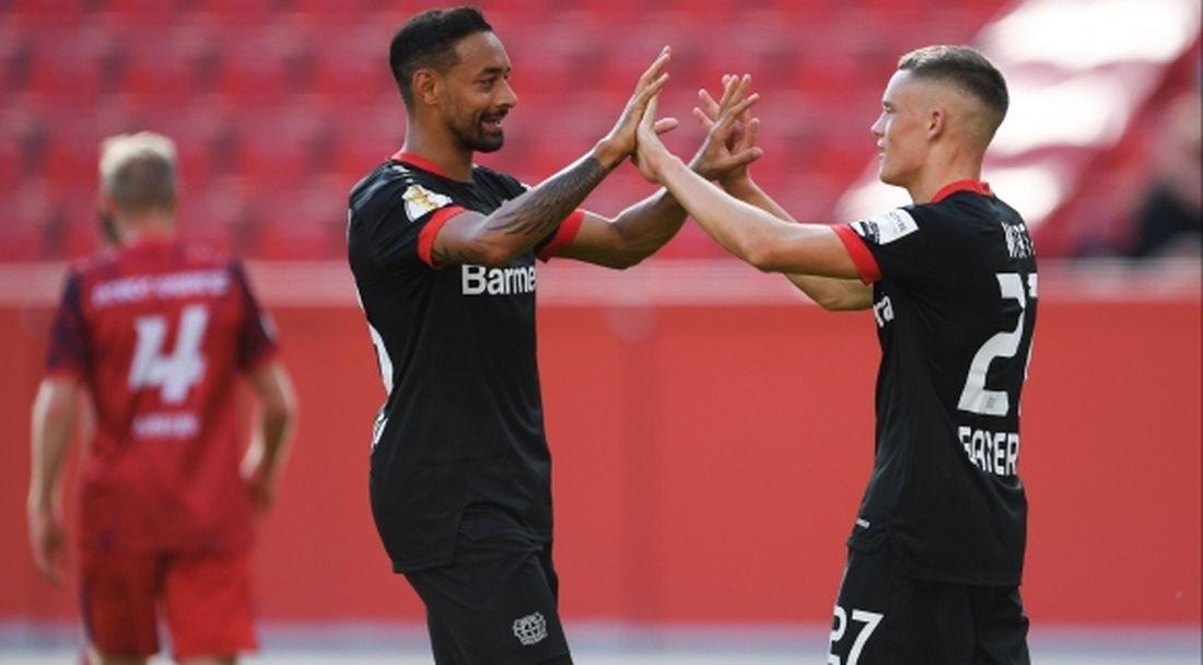 Байер (Леверкузен) тръгна с мощна победа за Купата на Германия