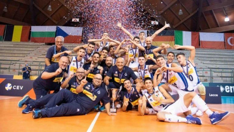 Италия триумфира с титлата на Евроволей U18 (видео + снимки)