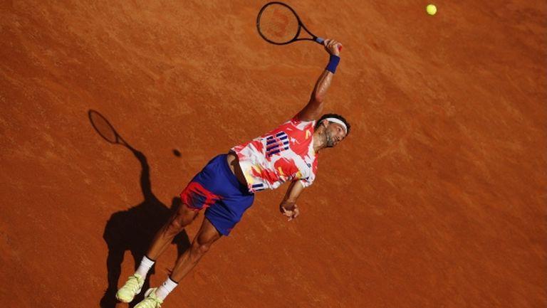 Григор Димитров с експресна победа за начало в Рим