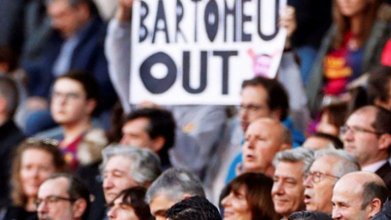Акцията успя: тръгва процедура по свалянето на президента на Барса