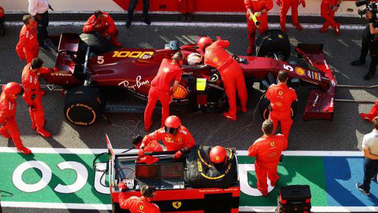 Ферари с подобрения за Гран При на Русия