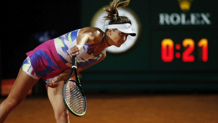 Двукратната шампионка Свитолина се класира за четвъртфиналите в Рим