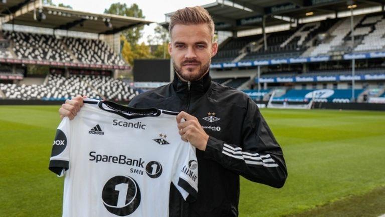 Официално: Розенборг подписа договор с Холмар Ейолфсон