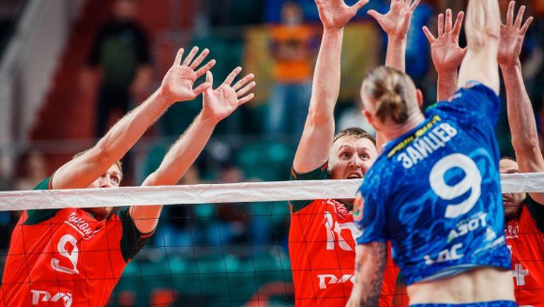 Иван Зайцев и Кузбас пак удариха Локо (Новосибирск) за Купата на Русия (видео + снимки)