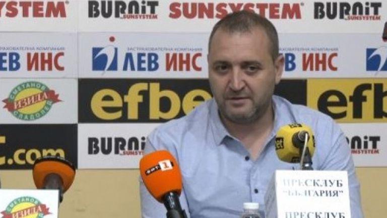Иван Петков: Вдигнахме летвата, гоним излизане от групите на Шампионската лига (видео)