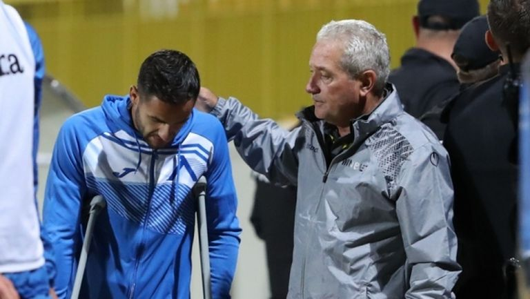 Ради Цонев: Скоро пак ще тичам със синята фланелка
