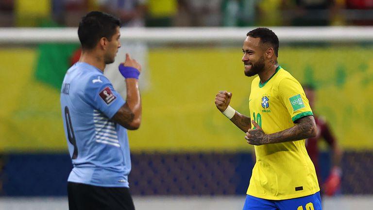 Неймар се забавлява, Бразилия побеждава