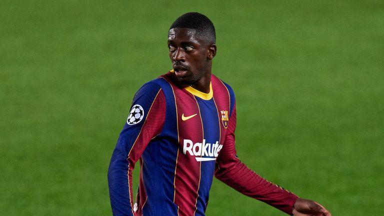 Барселона предлага нов договор на Усман Дембеле