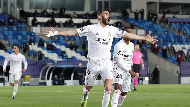 Реал Мадрид - Аталанта 3:1